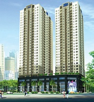Project: High-rise building of housing combined offices, services CT2- Ha Dong District New Administrative Center