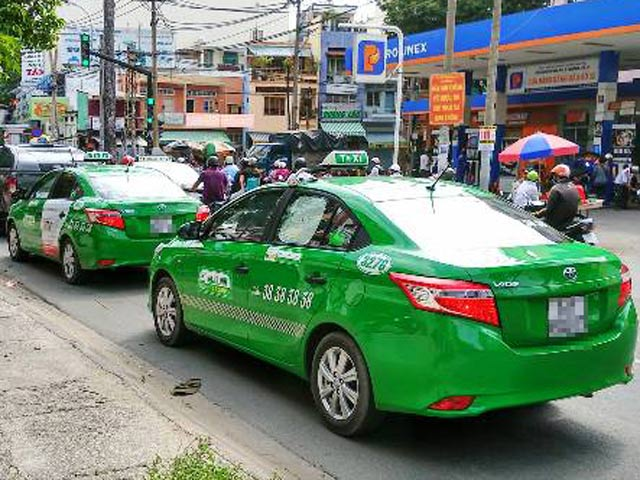 taxi dien tai tp ho chi minh